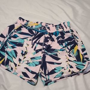 Girls floral Athletic shorts